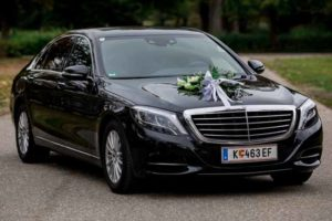 mercedes benz s-class long - wedding