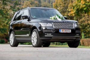 range rover autobiography - wedding