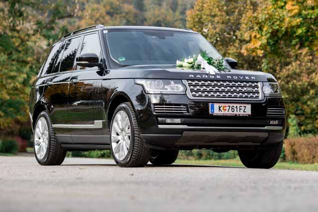 Range Rover Autobiography Wedding